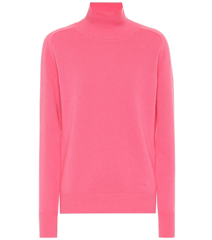 Stretch cashmere sweater