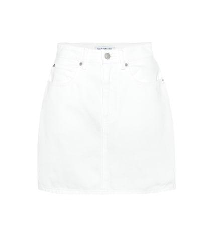 3ff4dfaec Faux Patent Leather Miniskirt - Calvin Klein Jeans | mytheresa.com