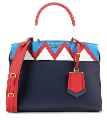 Esplanade Zigzag Leather Tote