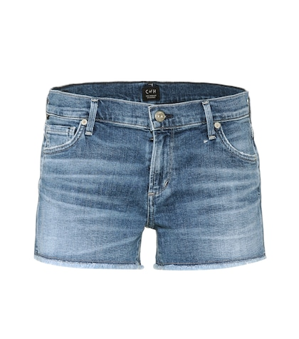 citizens of humanity female ava cutoff denim shorts