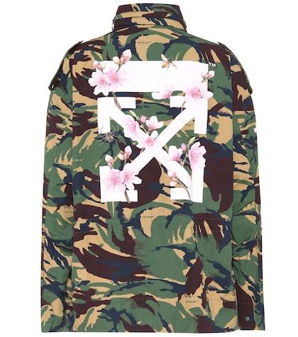 Diag camouflage jacket