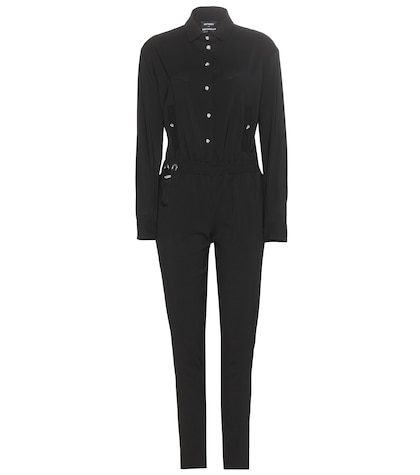 anthony vaccarello female wool jumpsuit