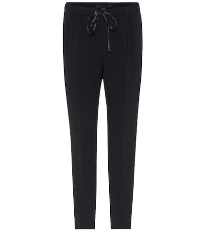 alexander wang female crepe trousers