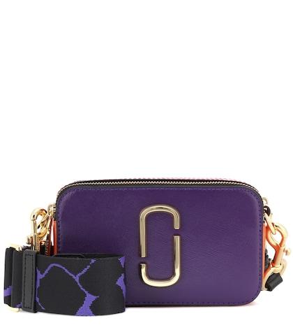 Snapshot Small leather shoulder bag