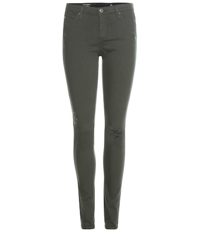 ag jeans female 227429 the legging distressed jeans