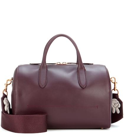 anya hindmarch female vere barrel leather barrel bag