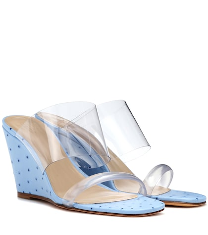 Olympia wedge sandals