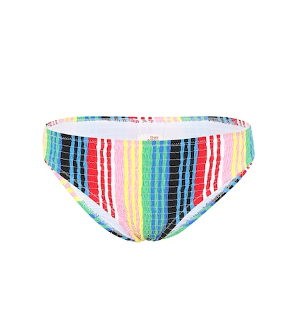 Barnett striped bikini bottoms