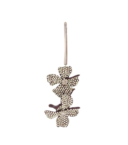 Embellished flower single earring