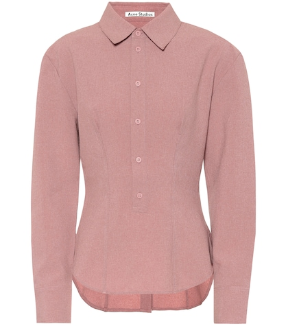 Buttoned-back shirt