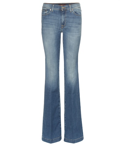 7 for all mankind female charlize flared jeans
