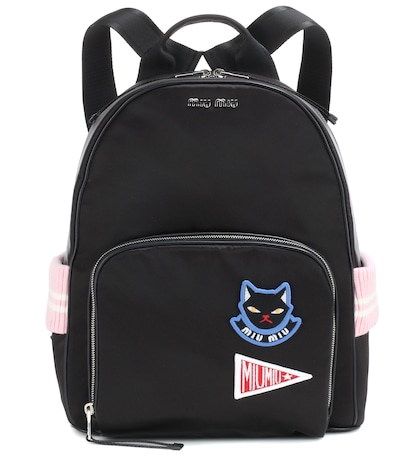 Appliquéd Backpack