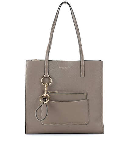 Bold Grind leather tote