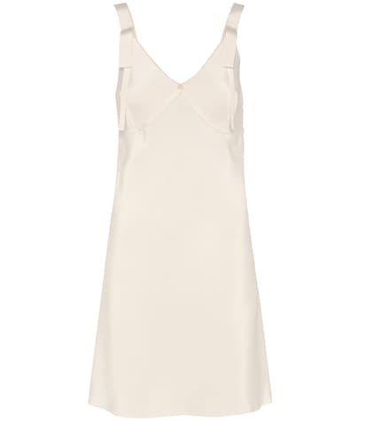 calvin klein collection female gerrity silk slip dress