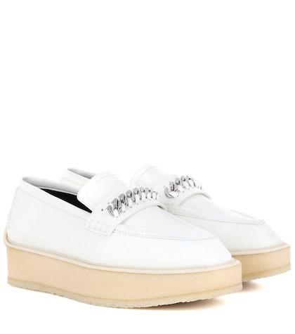 Embellished platform shoes