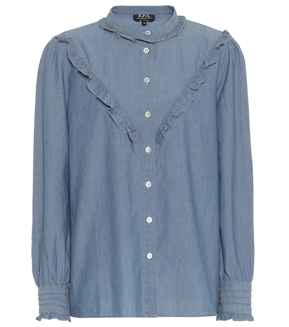 Chemise Polly en chambray