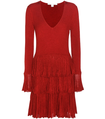 diane von furstenberg female sharlynn merino woolblend dress