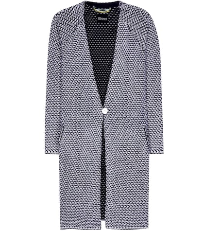 81hours female maliko wool and cashmere cardigan