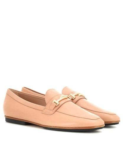Gomma Leggero Leather Loafers