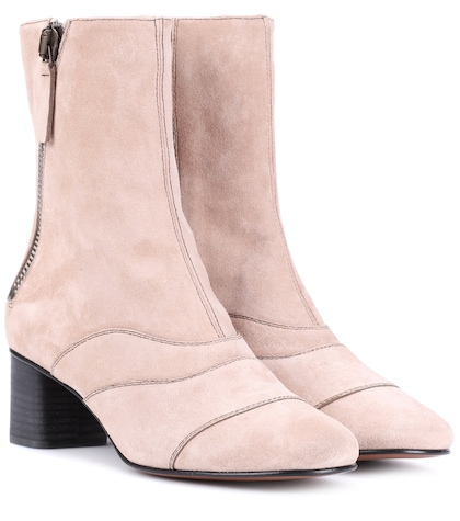 Lexie suede ankle boots