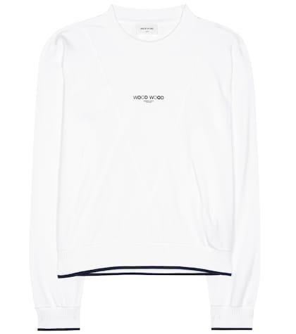 Mary Ann printed cotton sweatshirt