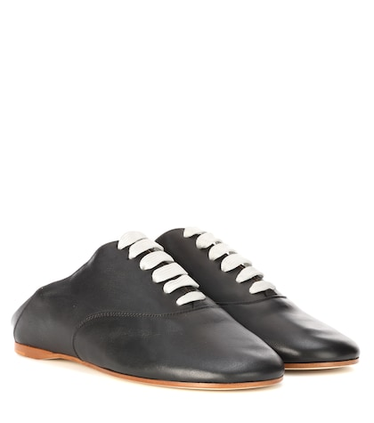Mika leather shoes