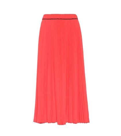 marc jacobs female pleated skirt