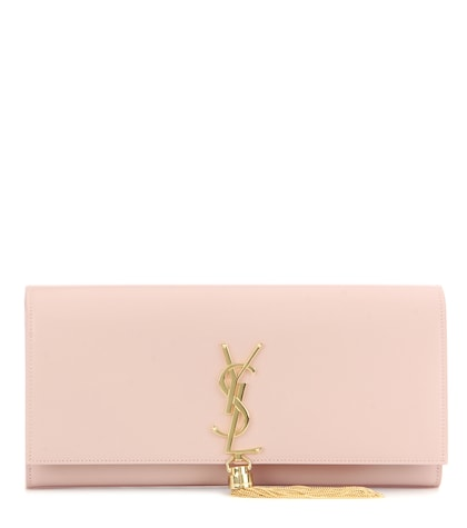 Classic Monogram Leather Clutch