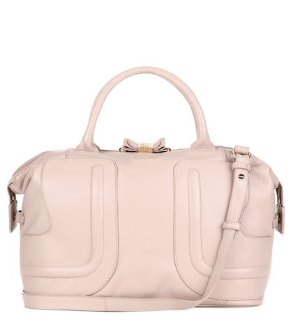see by chloe female kay leather tote