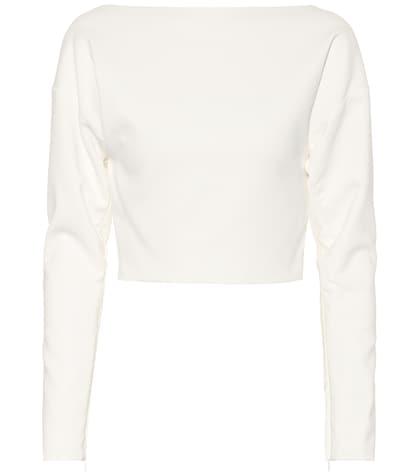 Top raccourci en jersey stretch New Appeal