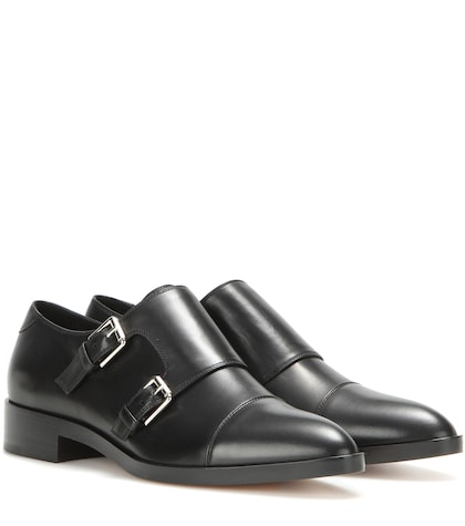 Dover Leather Monk Shoes