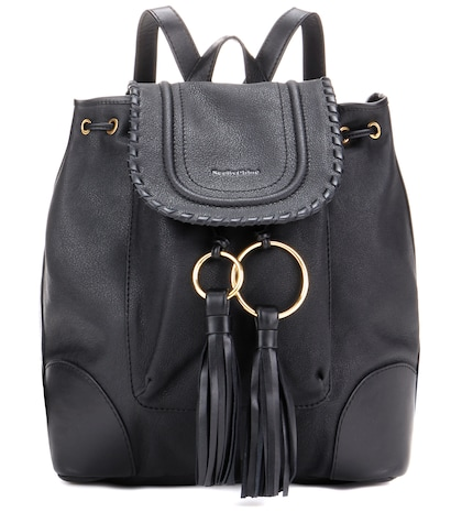 see by chloe female polly leather backpack