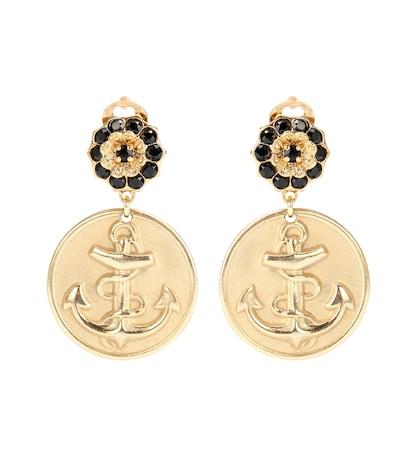 Anchor Clip-on Earrings