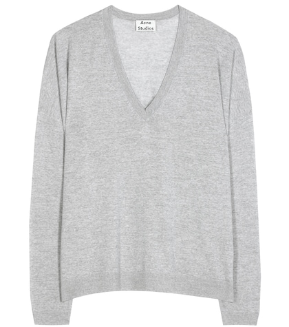 acne studios female challa wool sweater