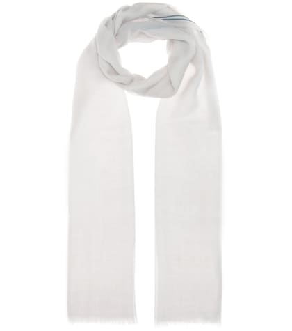 loro piana female fil and fil cashmere scarf