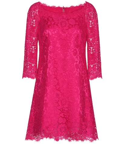 dolce gabbana female lace dress
