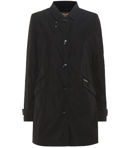 Travel trench coat