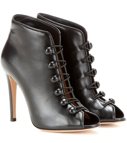 Imperia Leather Ankle Boots