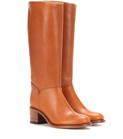 Iris Leather Boots
