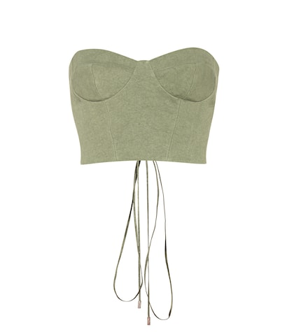 Exclusive to mytheresa.com – canvas corset