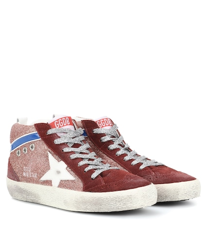 Mid Star suede sneakers