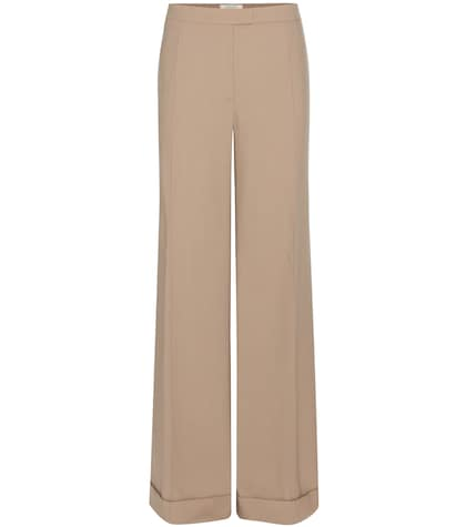 nina ricci female wool trousers