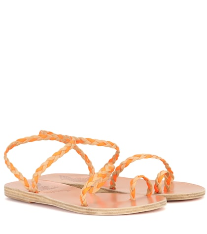 X Ancient Greek Sandals Eleftheria Braids sandals