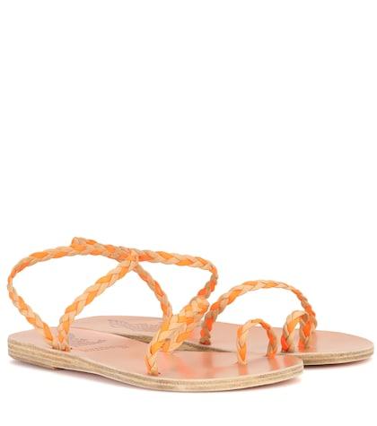 lemlem female x ancient greek sandals eleftheria braids sandals