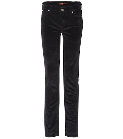 Mid Rise Roxanne corduroy trousers