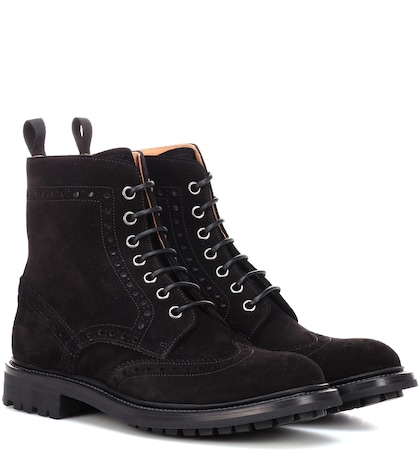 Angelina suede ankle boots
