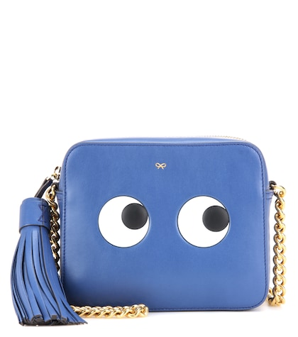 Eyes Right leather cross-body bag