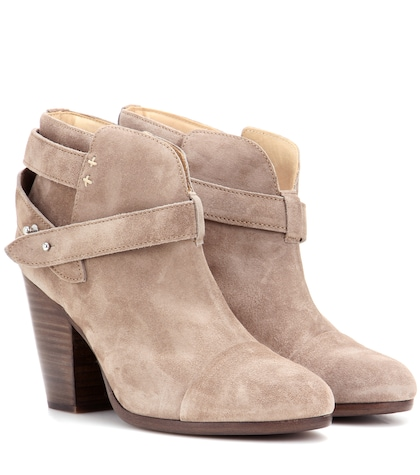 Harrow suede ankle boots
