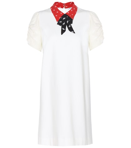 miu miu female knitted dress