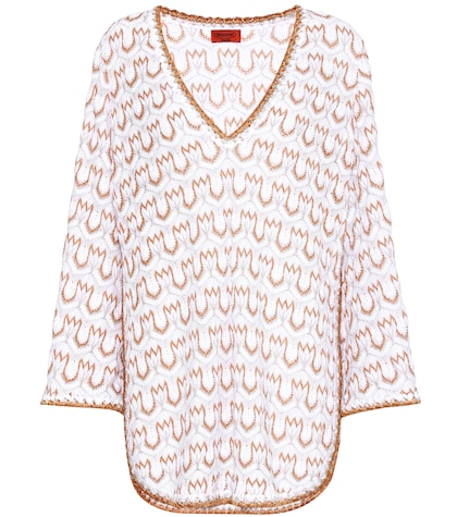 Knitted cotton tunic